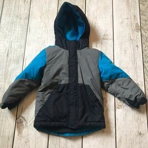Boys 2 in 1 winter jacket